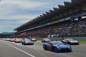 Super GT Fuji 2012 Round 6 Starting Grid
