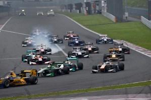 Super Formula Fuji Speedway 2014 Start 2