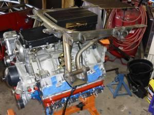 Engine cradle, left side