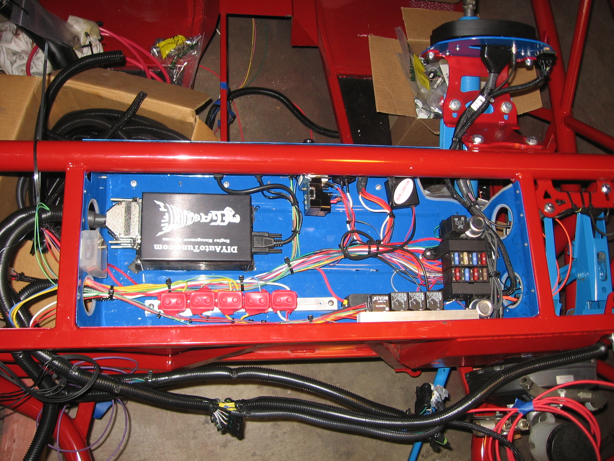 Main Harnesses Racing The Exocet Painless Ls1 Wiring Harness Room For Relays And Stuff Ecu Fuse B Lock