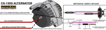 LS1 Alternator Wiring