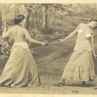 Le duel seins nus de la comtesse Kielmannsegg et la Princesse von Metternich