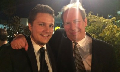 Ciprian Costin WithHans Zimmer