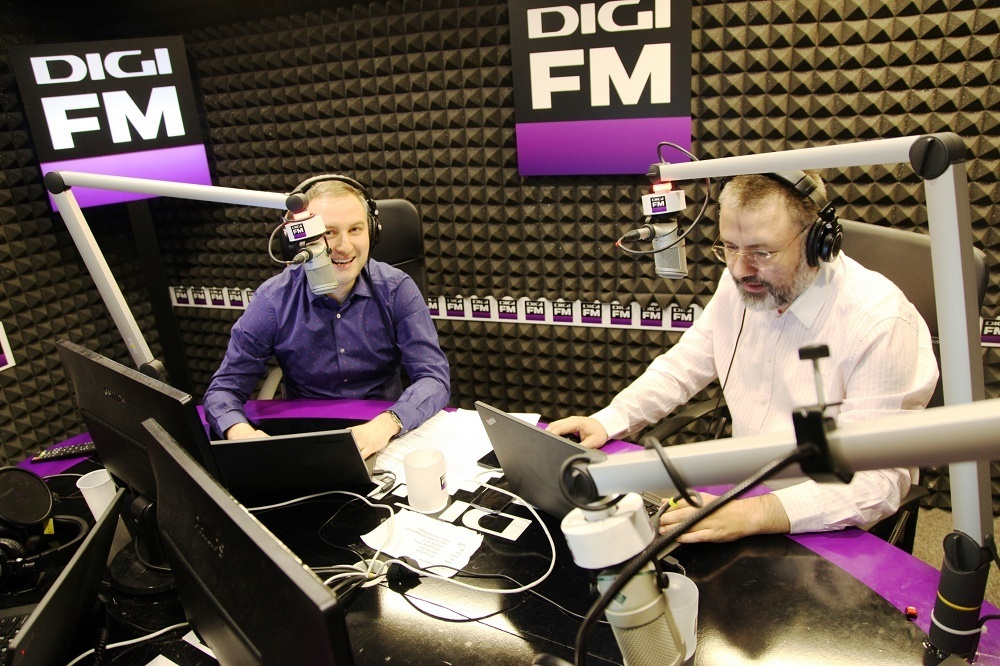 Bogdan Miu si Catalin Striblea - DIGI FM