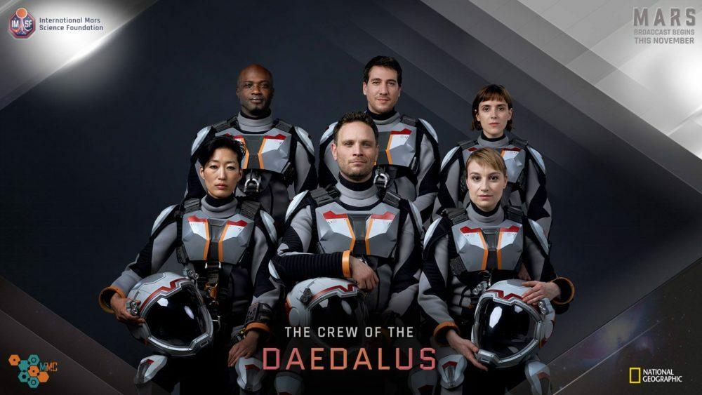 Deadalus Crew MARTE