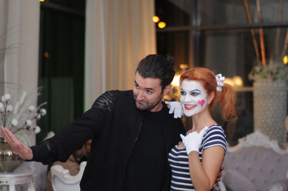 Actrita Maria-Magdalena Ianusev pregateste un one woman show
