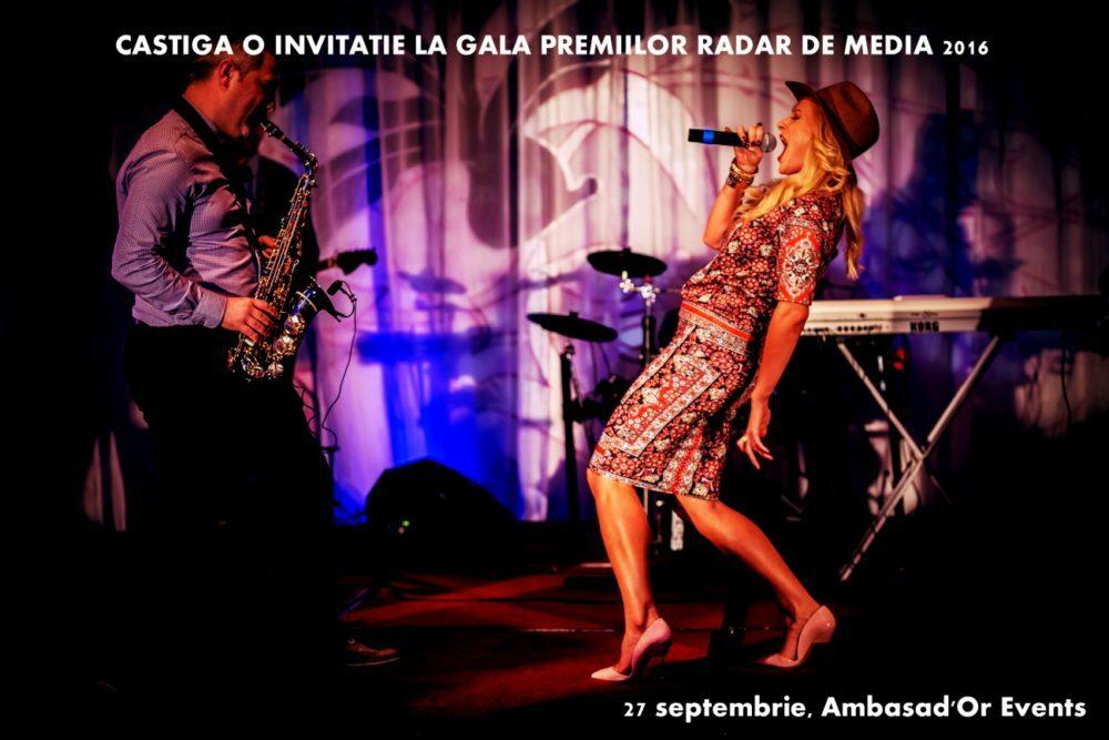 GALA PREMIILOR RADAR DE MEDIA 2016: Castiga o invitatie si fii martorul decernarii premiilor, la Ambasad'Or Events