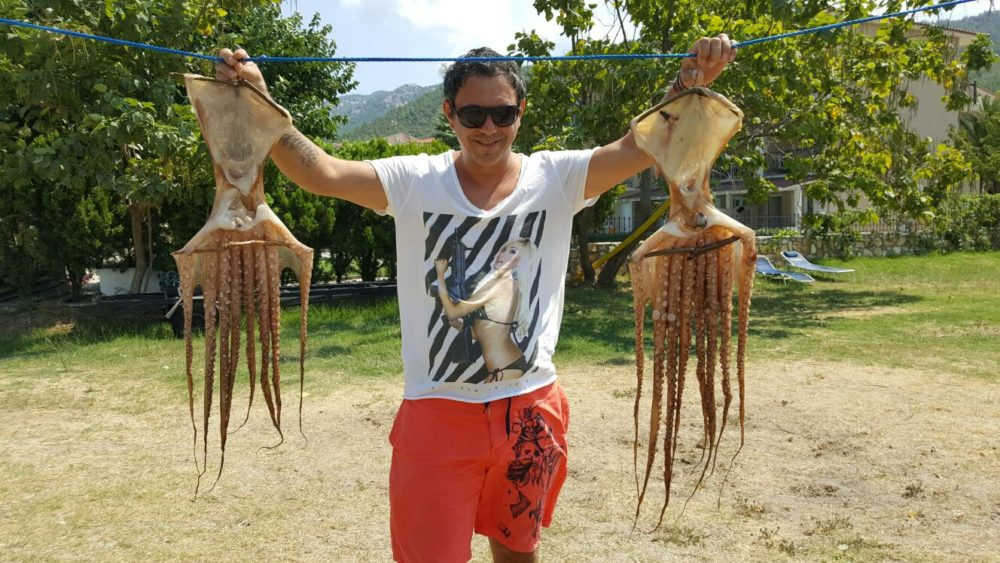 Sorin Bontea și familia sa au petrecut vacanţa pe insula Thassos
