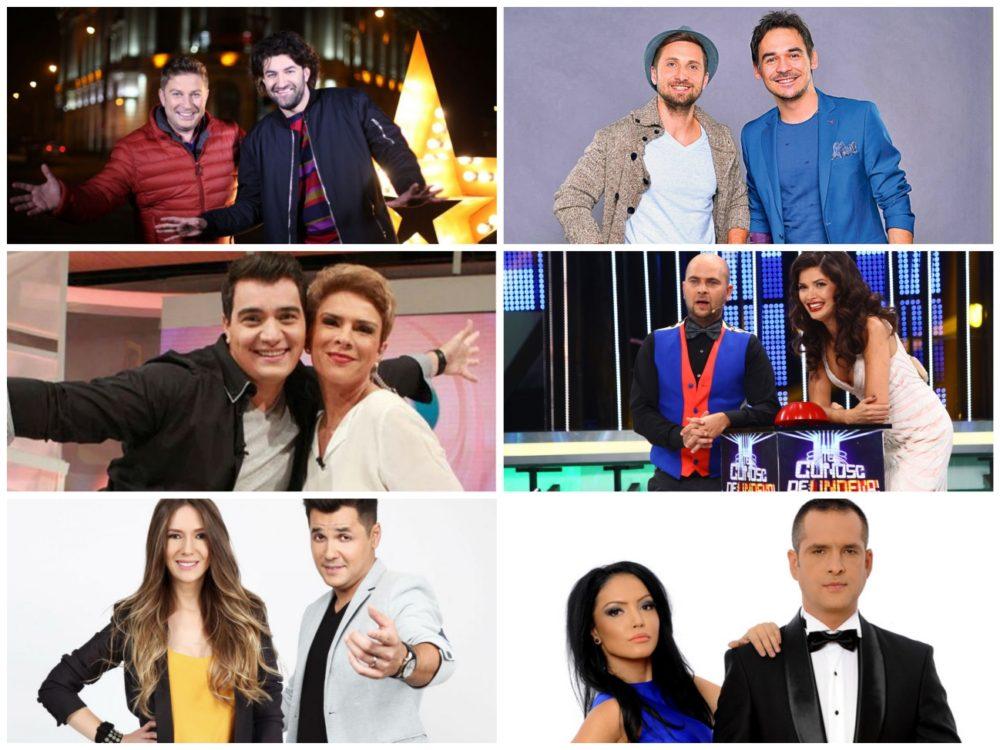 TuVOTEZI! Care este cel mai îndrăgit cuplu de prezentatori din România! Votează, aici!
