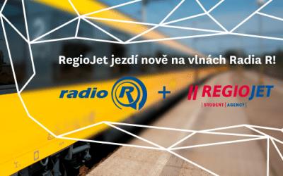 Radio R naděluje s předstihem. Jeho pořady je možné poslouchat i ve vlacích RegioJet
