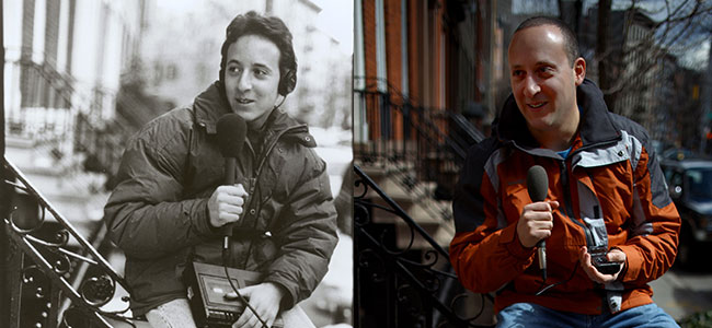Josh in 1996, and Josh in 2013 (Photo: David Gilkey/NPR)