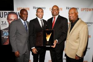 T.J. Holmes Receives The Hennessy Privilege Award