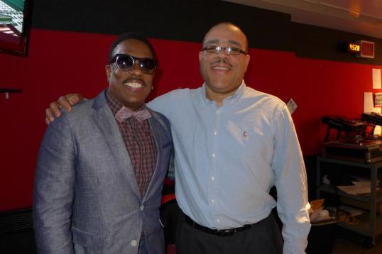 537057 10152472257245494 353787310 n Charlie Wilson Hangs with WBLS Skip Dillard, Celebrates Birthday and New Release