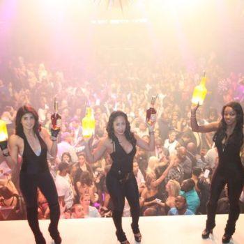 Hennessy V.S bottle parade