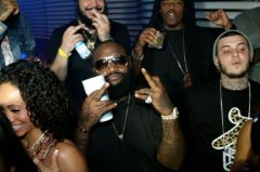 Rozay at Hennessy V.S 300x199 Rick Ross, Gabby Union, Dwyane Wade at Hennessy V.S South Beach Events