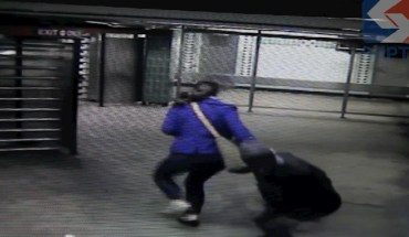 SEPTA KNOCKOUT Teenager Fails Attempting Knockout Game in Philadelphia (vid)