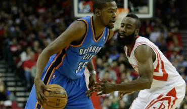 durant harden NBA Duel of the Week: Kevin Durant and James Harden Go at It