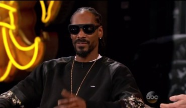 video snoop dogg jimmy kimmel in 600x337 Snoop Dogg Talks Meeting Oprah, Obama, and His New Festival