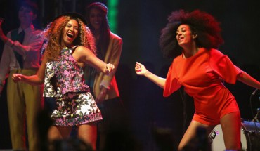 beyonce solange coachella Beyonce Makes Surprise Appearance at Coachella with Solange