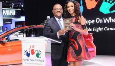 hyundai Hyundai Hope On Wheels Launches Just One Wish Program In New York With Michelle Williams