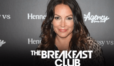 Wow! The Breakfast Club Welcomes Angie Martinez to the Power 105.1 Family