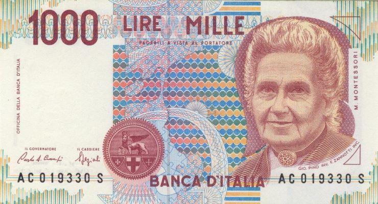 Lire in Euro