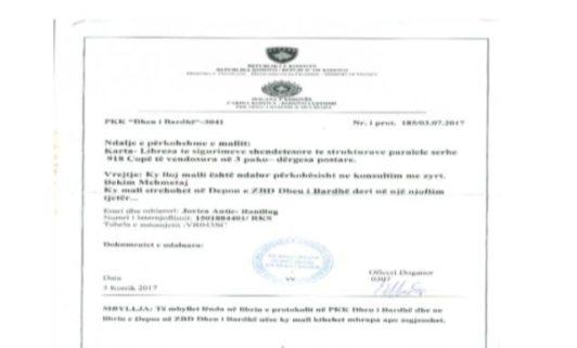 kosovska-policija-oduzela-918-srpskih-zdravstvenih-kartica