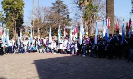 Homenajearon a San Martín en el aniversario de su fallecimiento y a Las Parejas por sus orígenes