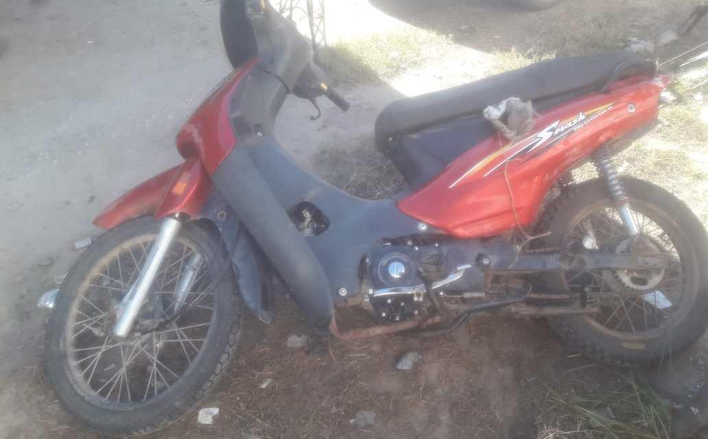 Encontraron moto abandonada