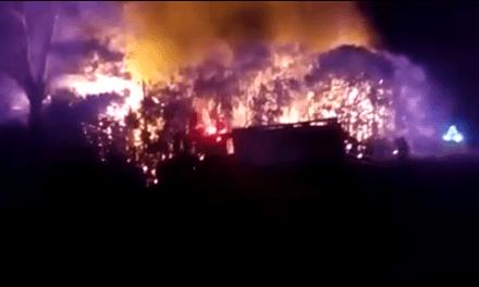 Tragedia en Timbúes: un nene murió tras un incendio