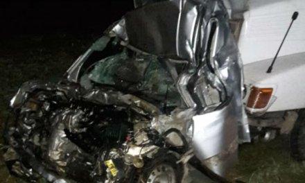 Múltiple choque fatal en la autopista cerca de Cañada de Gómez