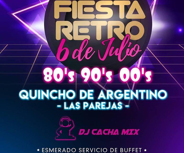 Fiesta Retro en el Quincho de Argentino