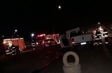 Accidente fatal y 7 heridos en Correa