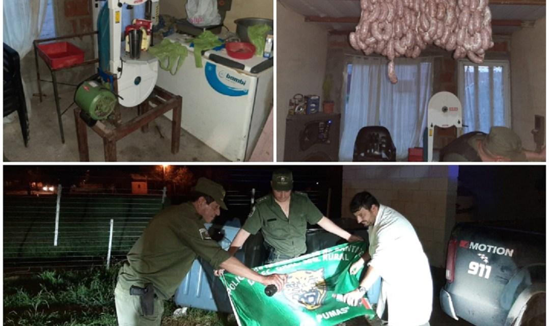 """Ofrecían carnes y personal de """"Los Pumas"""" constató que eran robadas"""