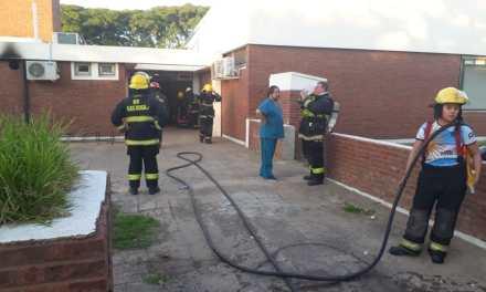Incendio en el Hospital de Las Rosas