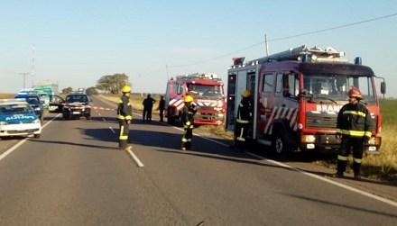 Accidente fatal en la ruta 9