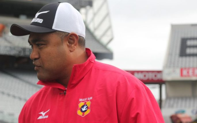 Tonga coach Toutai Kefu