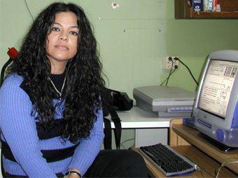 Kenderina Robles, en el año 1997 cuando estudiante de Ciencias de Comunicación en Unison.