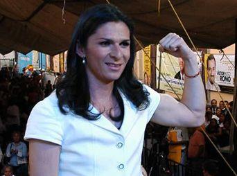 La Senadora Ana Gabriela Guevara podría repuntar en las preferencias.