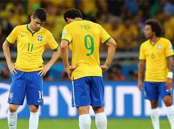 ¡De escándalo!; Alemania golea a Brasil 7-1