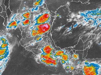 Alerta verde en sur de Sonora por huracán Polo
