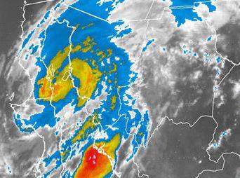 Nueve municipios de Sonora en Alerta Roja por huracán Odile