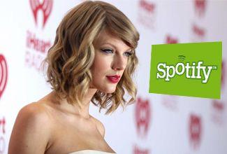¿Cuánto ganaba Taylor Swift con Spotify?