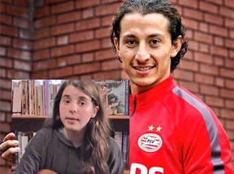 "Andrés Guardado busca a la niña de ""Pinches Holandeses"""