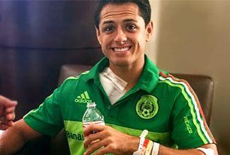 'Chicharito' sale del hospital después de la cirugía en la clavícula derecha que le hicieron en Houston, después de la lesión con Honduras.