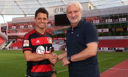 Ahora Chicharito es jugador del Bayer Leverkusen