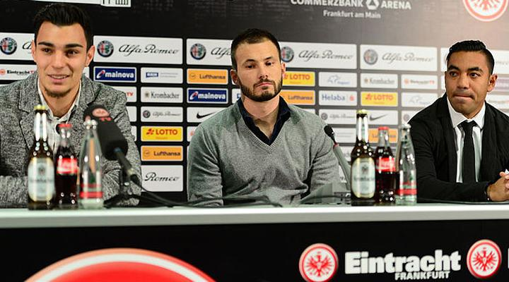 Así presentaron a Marco Fabián con el Frankfurt