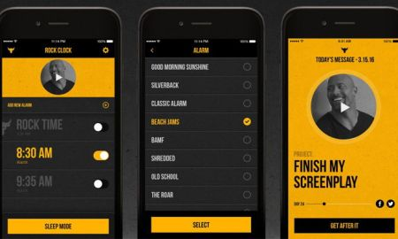 "Review: La app de La Roca, ""The Rock Clock"""