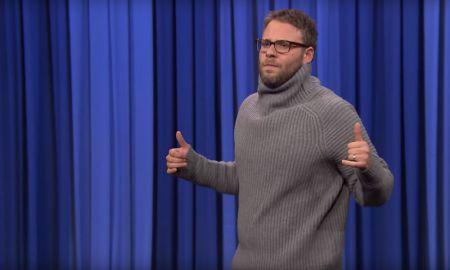 Seth Rogen imitó a Drake ¡Y lo hizo muy bien!
