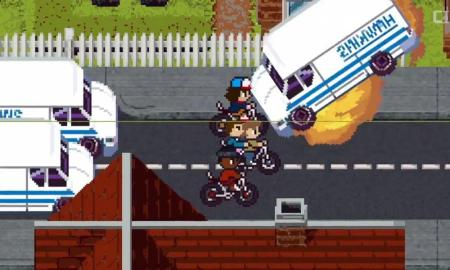 Stranger Things en 8 bits